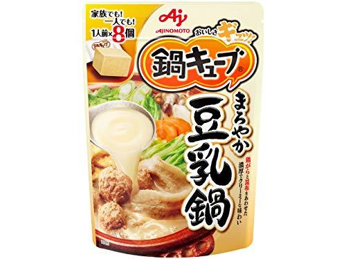 味の素鍋キューブまろやか豆乳鍋77g
