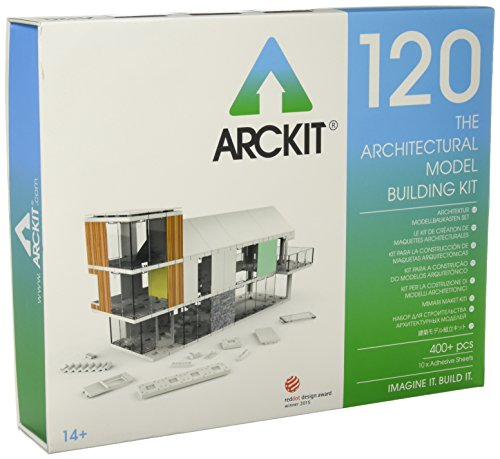 Arckit 120 Modelo Escala, Color Blanco (A10002)