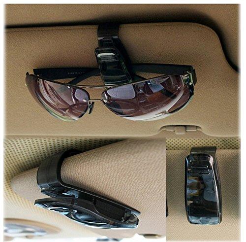 LetrinoTM autobril houder zonnebril etui zonneklep clip houder voor auto