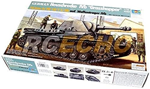 RCECHO& 174; Trumpeter Military Model 1 35 German Heuschrecke Ivb Grasshopper 00373 P0373 with 174; Full Version Apps Edition