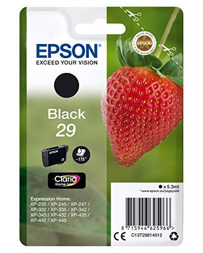 Epson C13T29814022 - Cartucho de tinta, standard, color negro