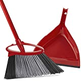 O-Cedar PowerCorner Angle Broom with Dustpan