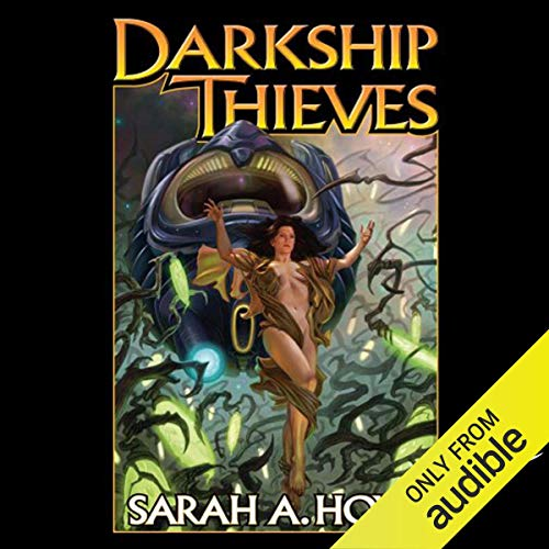 Darkship Thieves audiobook cover art