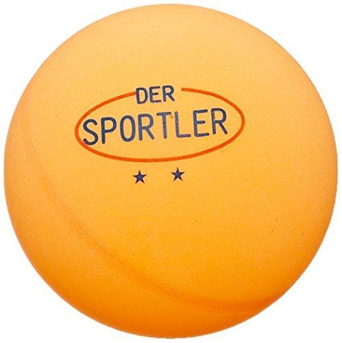 Der Sportler GmbH 72 TT-Bälle Tischtennisbälle 40mm Gute Trainingsqual. ** orange (Versand aus D)