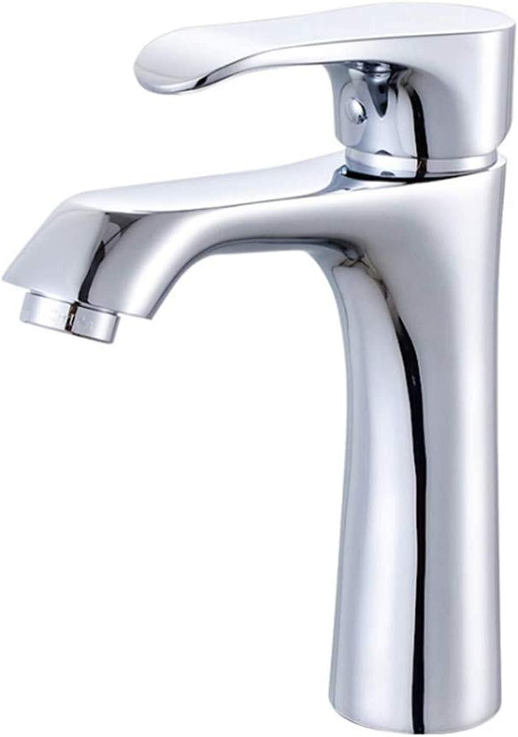 Water Tap Drinking Designer Archbathroom Copper Cold and Hot Washbasin Faucet Single-Hole Bathroom Cabinet Faucet