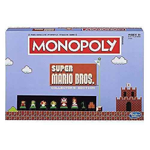 Monopoly: Super Mario Bros Collector s Edition Board Game