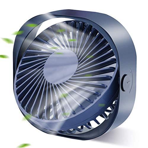 LIJJY Mini Ventilatore USB per scrivania Personale, Ventola di Raffreddamento a 3 velocità, Viaggio all'aperto per l'home Office