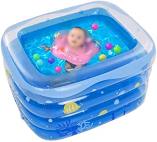 Boys and Girls Toys Inflatable Swimming Pool, Summer Beach Pool Party Decorations Pool Water Pool Bathing Pool Bathtub Bal...