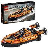 LEGO 42120 Technic Aéroglisseur de Sauvetage Jeu de Construction d'un Avion, Modèle 2 en 1, pour Garçons et Filles de 8 Ans et