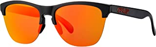 Men's OO9374 Frogskins Lite Round Sunglasses, Matte