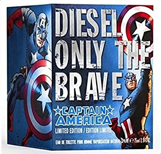 Only the Brave Captain America by Diesel for Men - 75 ml Eau de Toilette