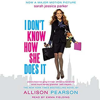 I Don't Know How She Does It audiobook cover art