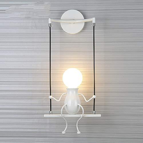 Kinder Wandleuchten,Mode Wandleuchten,Moderne Schlafzimmer Kreative nachttischlampe,Flur Gang Balkon-licht-C 14x48cm(6x19inch)