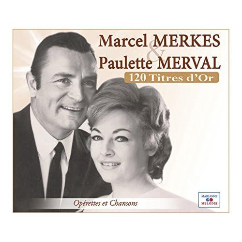 Marcel Merkès & Paulette Merval