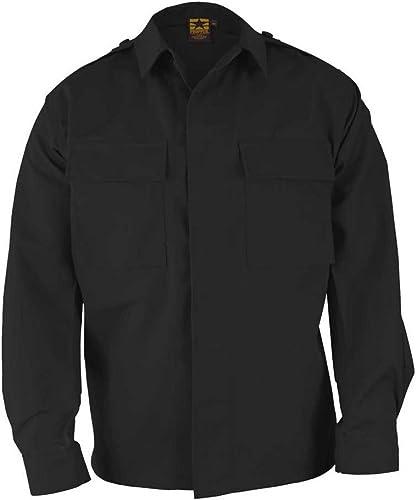 PROPPER F5452 BDU Battle Rip Shirt - Long noir M Regular FACTORY CODE  INT PRO220520