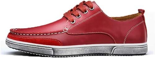 YCGCM Chaussures Décontractées Angleterre pour Hommes, Chaussures Rétro, Chaussures Chaussures Souples  haute qualité