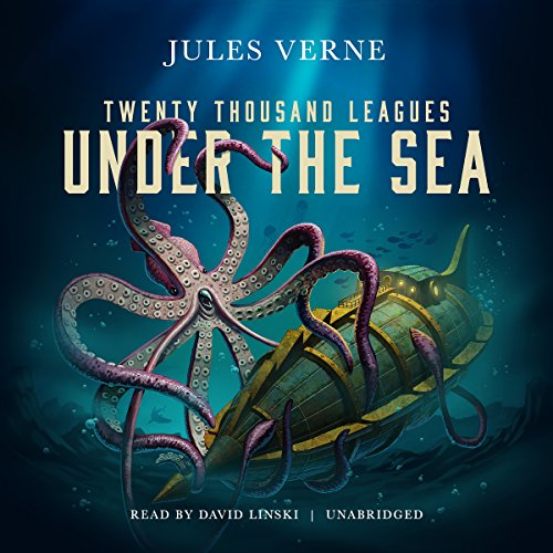 20,000 Leagues Under the Sea                   By:                                                                                                                                 Jules Verne                               Narrated by:                                                                                                                                 David Linski                      Length: 11 hrs and 13 mins     25 ratings     Overall 4.6