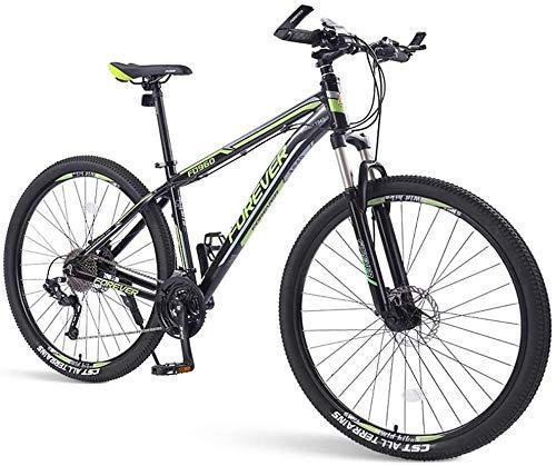 Las bicicletas de montaña for hombre, 33 velocidad hardtail bicicleta de montaña, doble marco del freno de disco de aluminio, for los adultos, for los deportes al aire libre Ciclismo Trabajar el cuerp