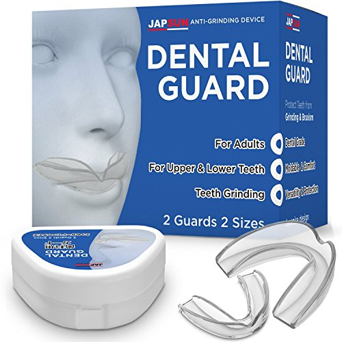 Dental Mouth Guard - Custom Moldable Night Guard - Pack of 2 Big and Small - Bite Splints for Sleeping - BPA Free