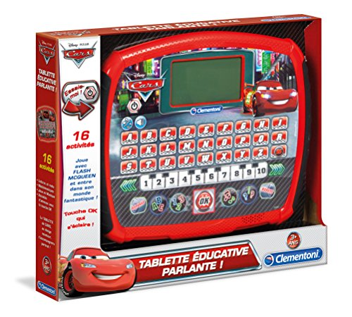 Clementoni - 52041-Tablette éducative Cars-COMPUTER-KID