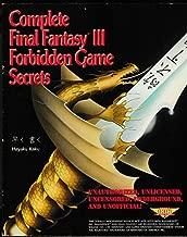 Best final fantasy 3 secrets Reviews