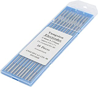 Tungstens Electrodes, No Radioactivity TIG Welding Tungsten Electrode Rods,(2.4mm*175mm)