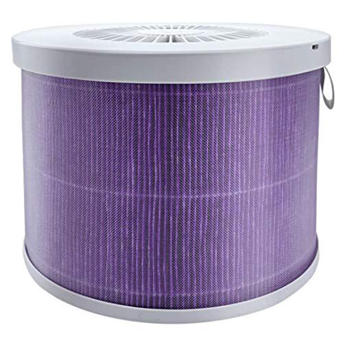 Huante Les ELEMents de filtro cilíndrico de purificador de aire de bricolaje, limita el filtro HEPA de PM2.5 y de compuesto de bruma.