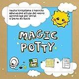 Libro Magic Potty: dejar el pañal y empezar con el orinal jugando.