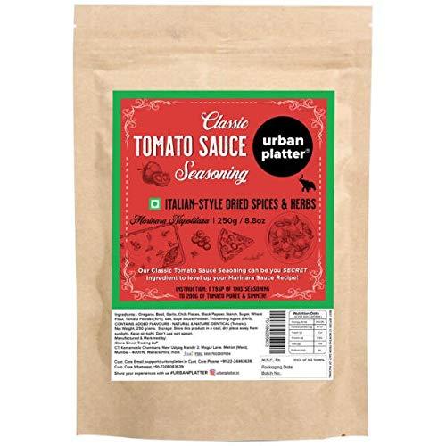 Italian Pizza Pasta Herb Masala Sauce Seasoning , 250 Gm (8.82 OZ) [Premium Quality Marinara Napolitana Italian-Style Seasoning]