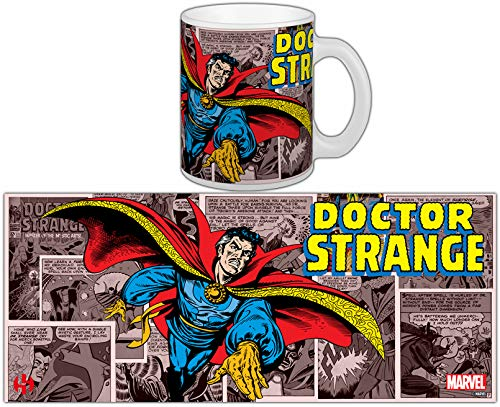 Marvel Semic Distribution - Smug082 - Ameublement Et Décoration - Mug Retro - Série 2 - Dr. Strange