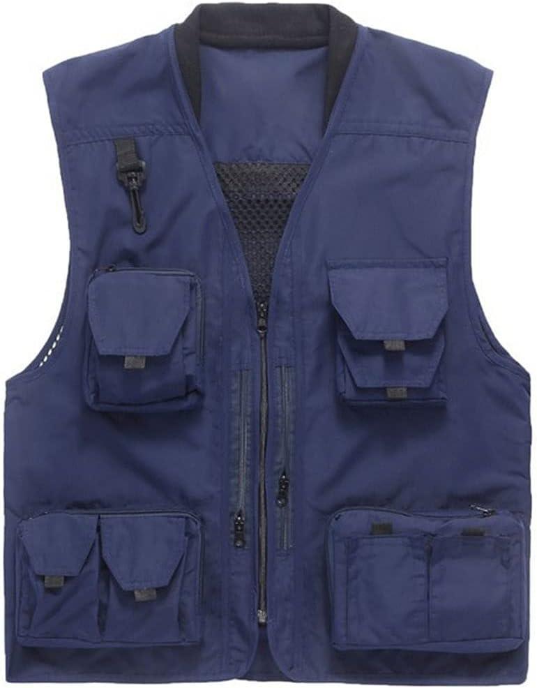 Al sold National uniform free shipping out. HYFDGV Fishing Vests for Men Multi Vest Breathable Men's
