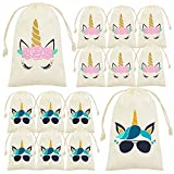 My Greca Unicorn Goodie Bags for Kids - 12 Party Favor Bags For Candy, Treats and...