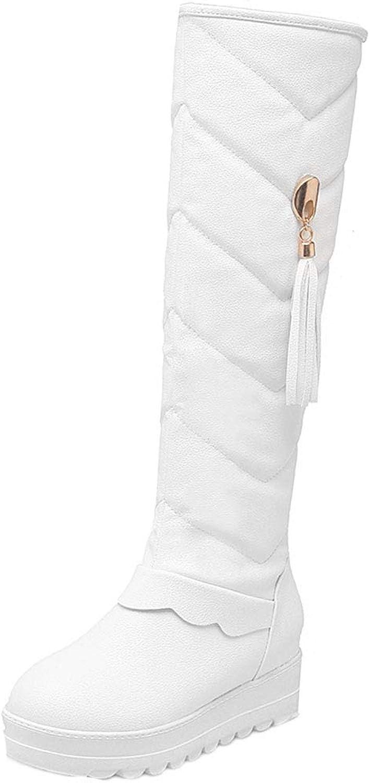 KemeKiss Outdoor Snow Boots Women Knee High Warm Boots