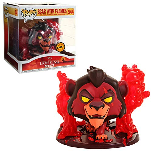 Lion King The Pop - Scar with Red Flames Disney Treasures Box [Chase]