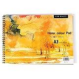 水彩スケッチブックA3パステルペーパーパッドスケッチブック水彩画ブックペイントノートペイントドローイング