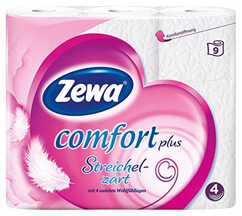 Zewa - Comfort Plus Streichelzart, Toilettenpapier