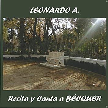 Recita y canta a Becquer