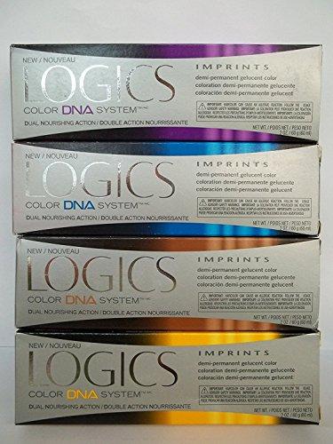 Logics Imprints SHEER Demi Permanent Hair Color 2oz V-SSVIOLET DOUBLE SHEER