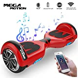 Mega Motion Self Balance Scooter Elettrico E1-6.5'Elettrico Segway - Bluetooth -