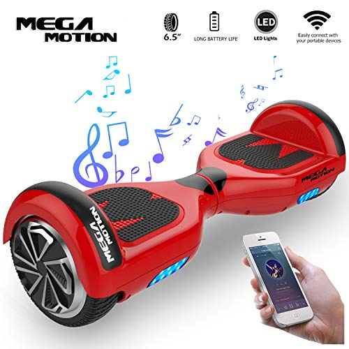 "Mega Motion Self Balance Scooter Elettrico E1-6.5""Elettrico Segway - Bluetooth - [Sicurezza UL CE]"