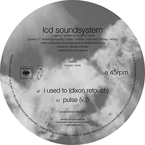 I Used to (Dixon Retouch)/Pulse (V.1) [Vinyl Maxi-Single]