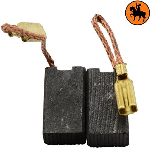 Buildalot Specialty Kohlebürsten ca-07-70131 für Kress Schleifer CDS 6425-5x8x14,5mm - Mit Federn, Kabel und Stecker - Ersatz für Originalteile 24837