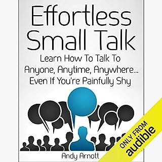 Effortless Small Talk audiobook cover art