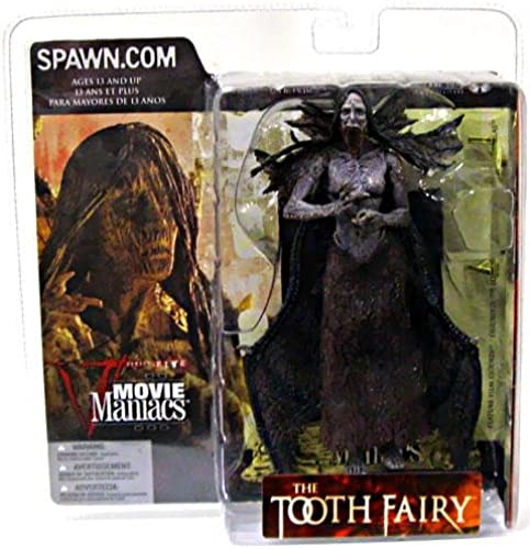 McFarlane - Movie Maniacs - Series 5 - The Tooth Fairy Darkness Falls - Tooth Fairy feature film figure (Open Mouth Variant) w accessories by McFarlane