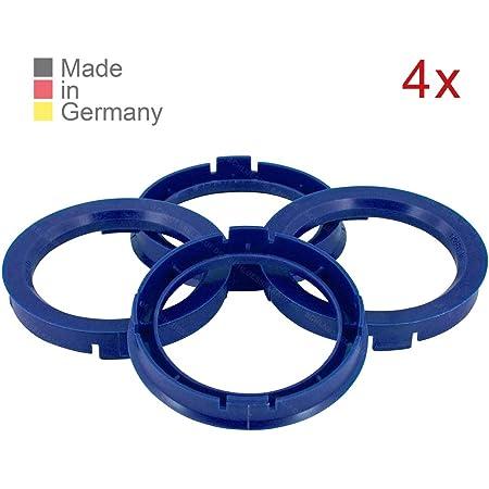 Konikon 4x Zentrierringe 73 0 X 57 1 Mm Rot Felgen Ringe Radnaben Zentrierring Adapterring Ring Felgenring Distanzring Made In Germany Auto