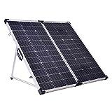 Offgridtec® Solarkoffer 180W 12V Plug & Play mit integrierter Aufständerung und Tragetasche ohne Laderegler