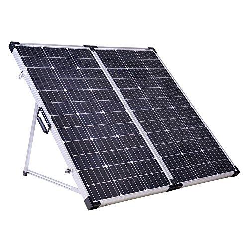 Offgridtec Solarkoffer 180W 12V Plug & Play mit Integrierter Aufständerung und Tragetasche ohne Laderegler