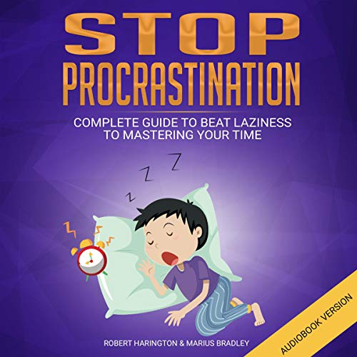 Stop Procrastination audiobook cover art