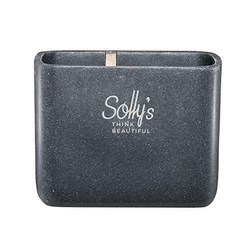 Solly`s Zahnbürstenhalter aus Stein und Holz, bruchsicher, für elektrische Zahnbürsten geeignet