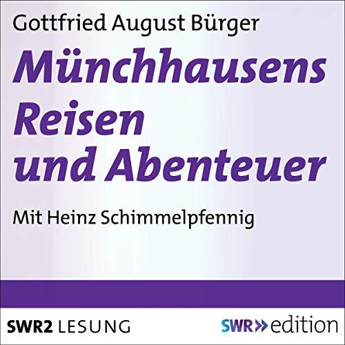 Münchhausens Reisen und Abenteuer Titelbild